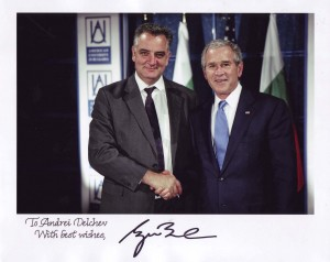 President of the United States of America George W. Bush Recognition